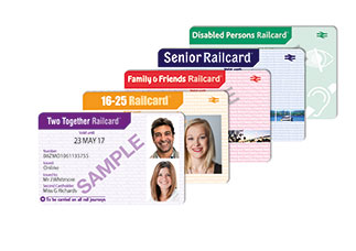 Cheap rail tickets with railcards
